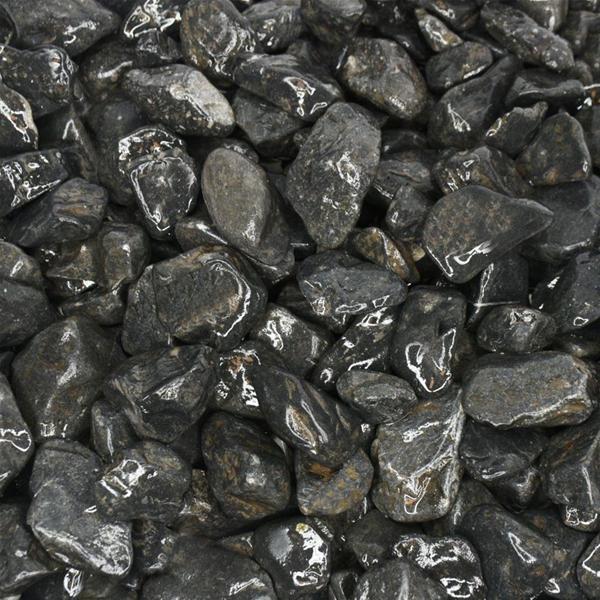 Midnight Black Pebbles  20-40mm
