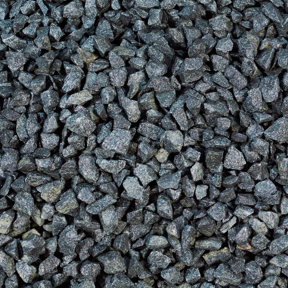 Black Basalt 20mm - Decorative Chippings   Gravel Master