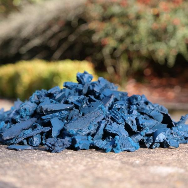 Play Area Rubber Chippings Blue