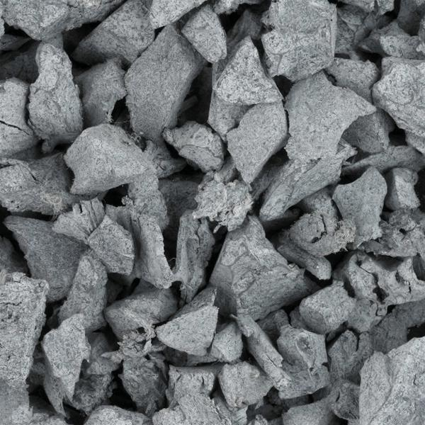 Play Area Rubber Chippings Grey