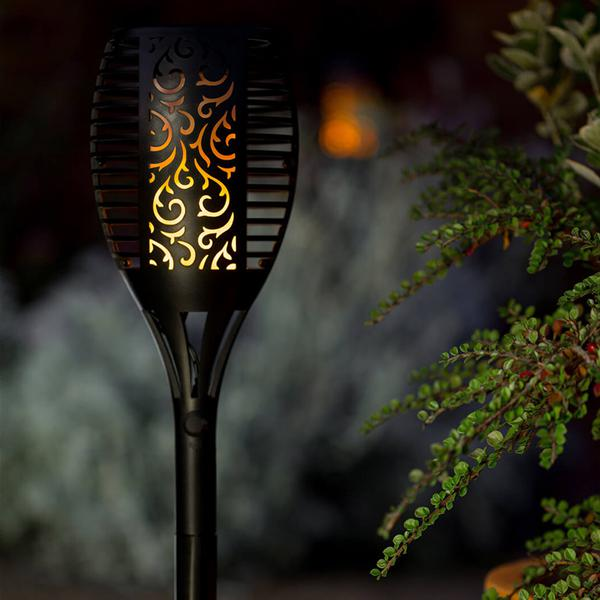 Solar Flame Lights (2-Pack)