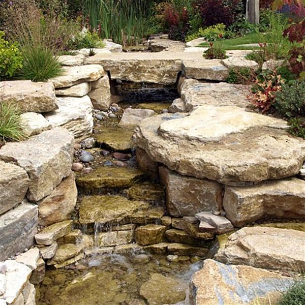 Yorkstone Buff Rockery